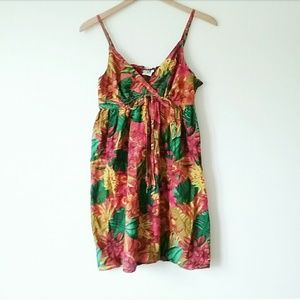 Vintage Saybury Tropical Tank Summer Dress India